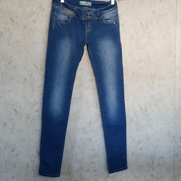 Paradis Miss low rise skinny jeans size 7